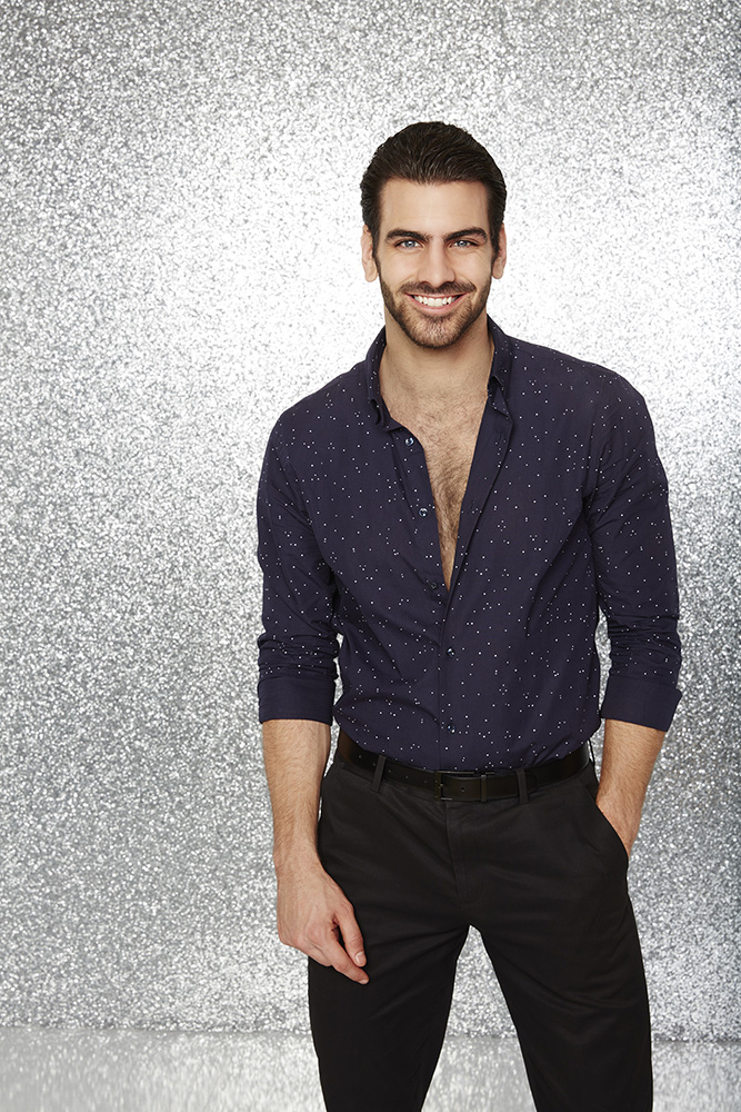 "DANCING WITH THE STARS - NYLE DIMARCO - The stars grace the ballroom floor for the first time on live national television with their professional partners during the two-hour season premiere of ""Dancing with the Stars,"" which airs MONDAY, MARCH 21 (8:00-10:01 p.m., ET) on the ABC Television Network. (ABC/Craig Sjodin)"